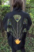 Gorgeous peacock jacket