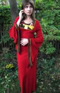 Red Kirtle with Hand embroidery