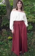 women's gored skirt